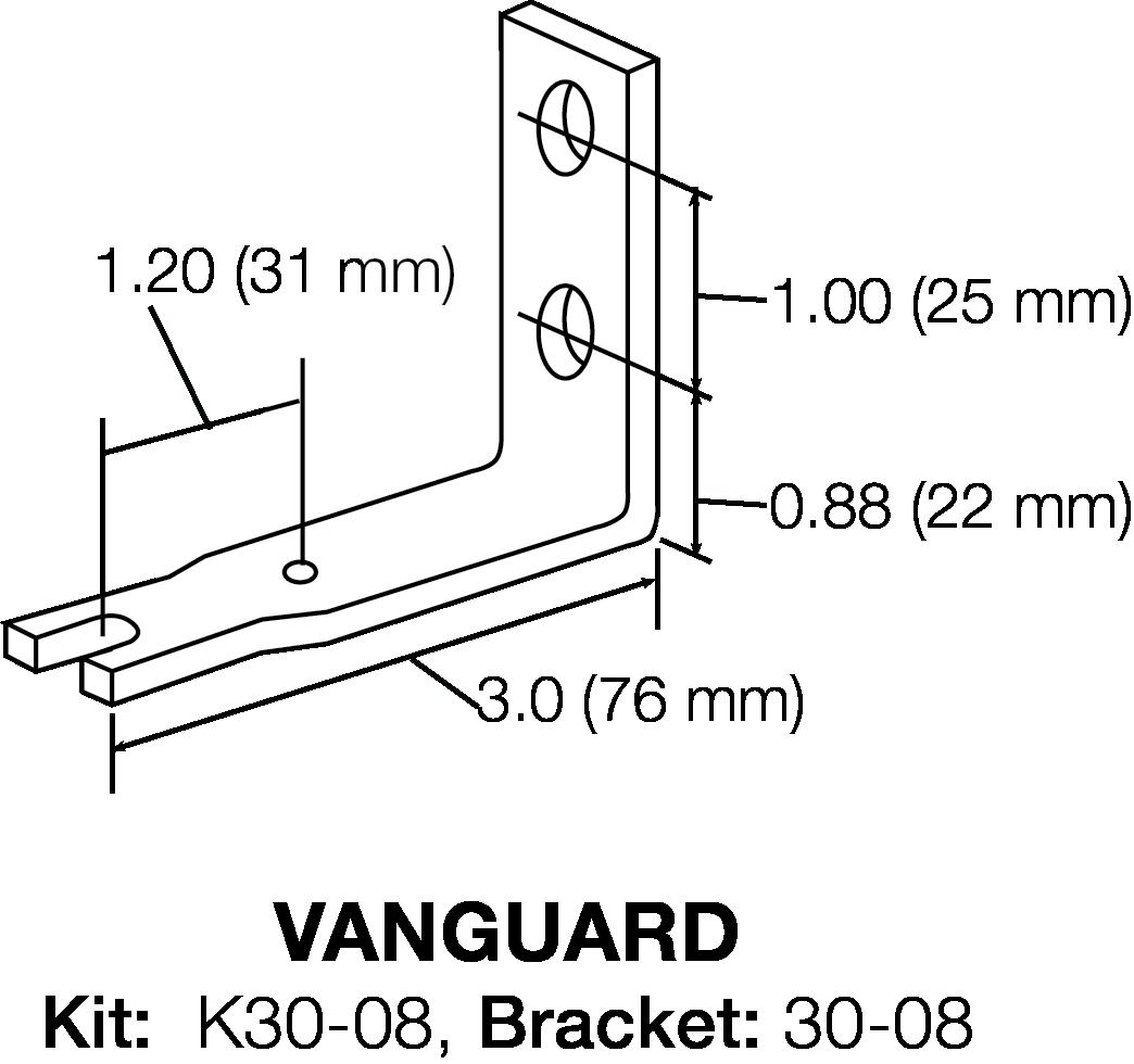 VANGUARD BRACKET